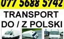 Oferuję transport do/z Polski